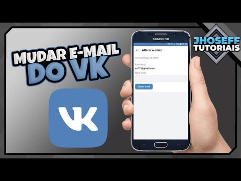 Como Mudar O E Mail Do VK