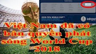Việt Nam đã có bản quyền phát sóng World Cup 2018