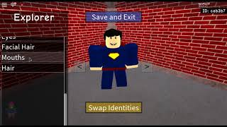 How To Make Superman (Man Of Steel) In Roblox SHL2