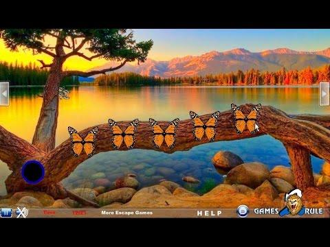Glacial Mountain Lake Escape walkthrough Games2Rule.
