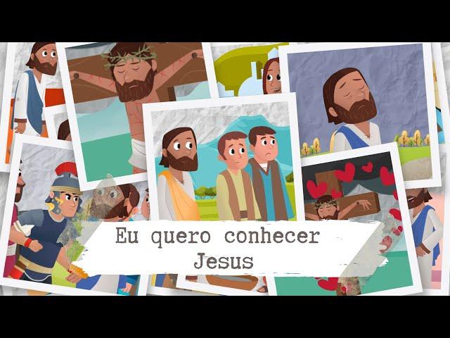 CULTO INFANTIL | EU QUERO CONHECER JESUS