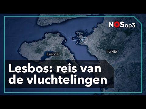 Dit is de reis van een vluchteling op Lesbos   NOS op 3