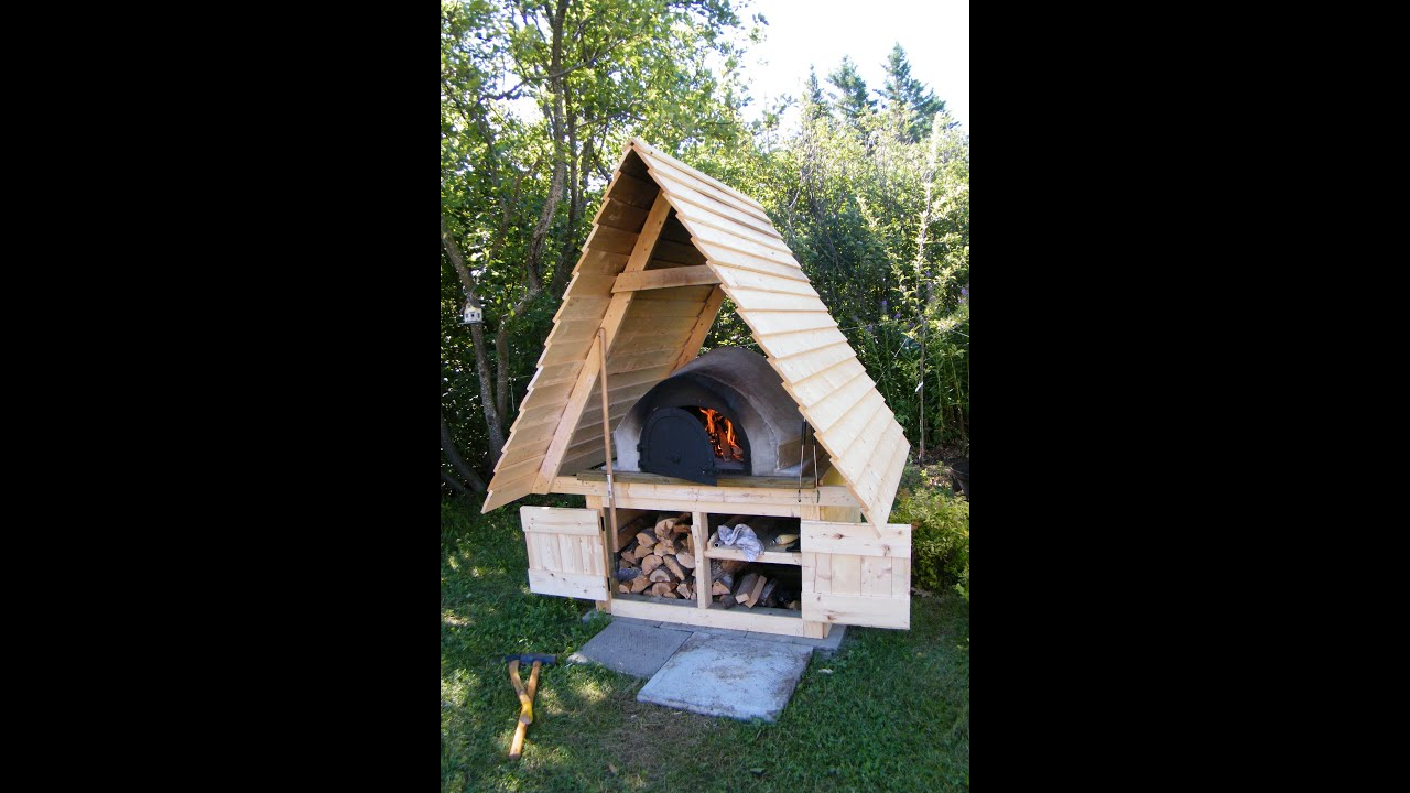 Comment construire un four a pain how build bread oven - Construire un sauna exterieur ...