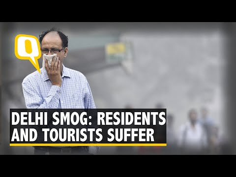 Delhi Grapples with Severe Pollution: Residents, Tourists Suffer | The Quint