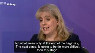 Catherine Barnard on BBC Question Time: is this the end of the beginning?