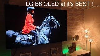 LG B8 OLED at it's BEST !