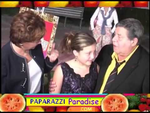 JERRY LEWIS and family attend