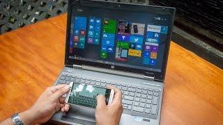 Tinhte.vn - Điều khiển máy tính từ xa bằng ứng dụng Intel Remote Keyboard