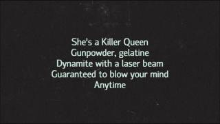 Queen - Killer Queen (Lyrics)