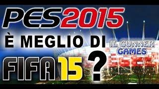 PES 15 Gameplay Ufficiale ITA - Meglio di FIFA 15? Proviamolo! (Il Gunner Games)
