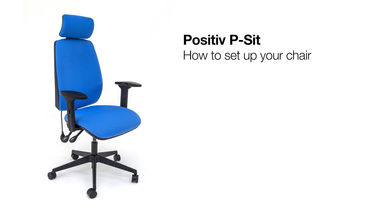 Positiv P-Sit High Back Ergonomic Chair