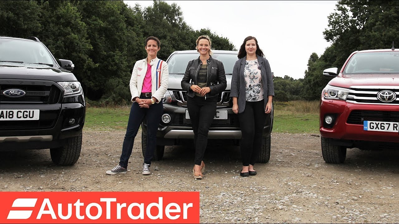 81a0d97b6c The REV Test  Pick-up trucks. Toyota Hilux vs Mitsubishi L200 vs Ford  Ranger. Autotrader