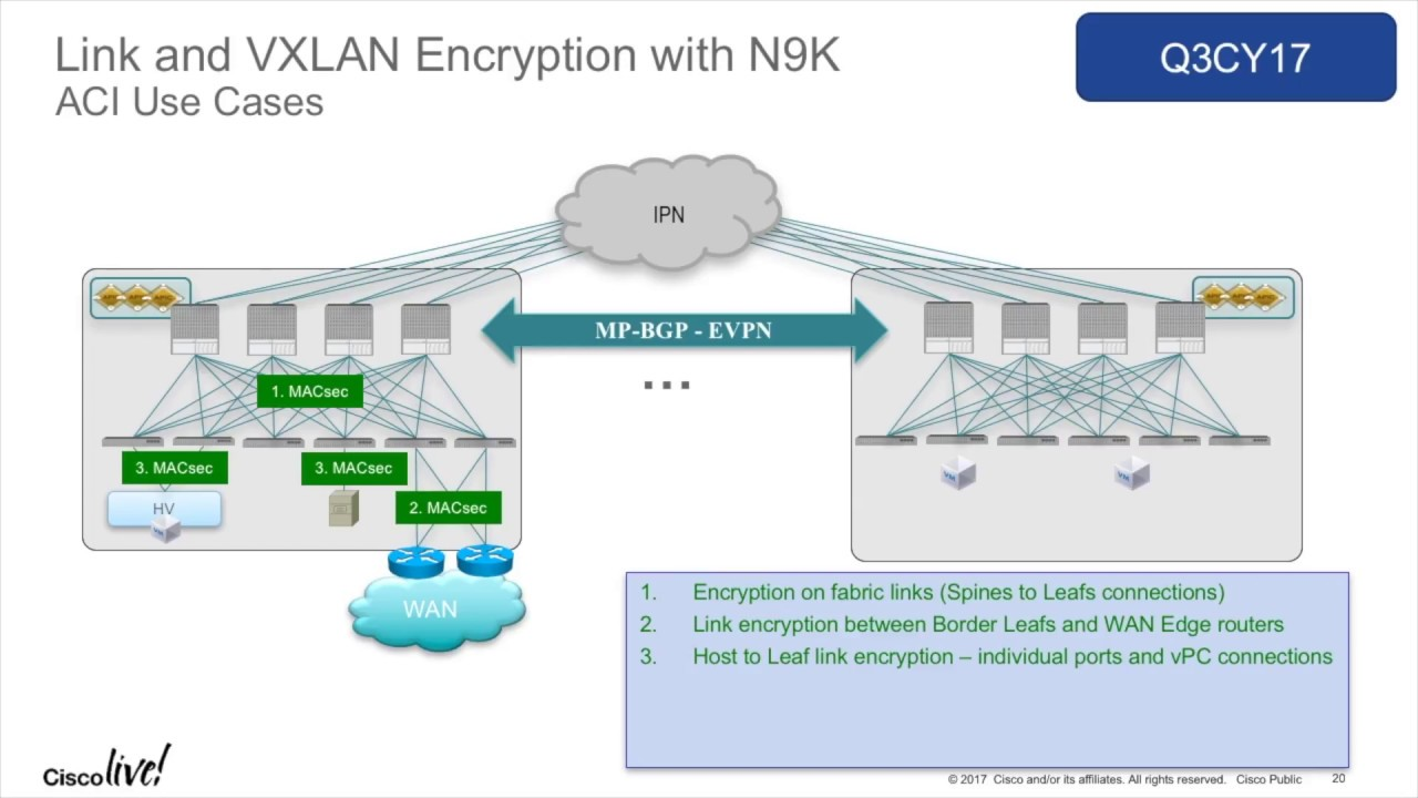 Cisco ACI Encryption Options with Max Ardica