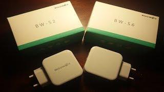 Blitzwolf: BW-S2 и BW-S6 QC3.0 Обзор и тест зарядных устройств | drintik