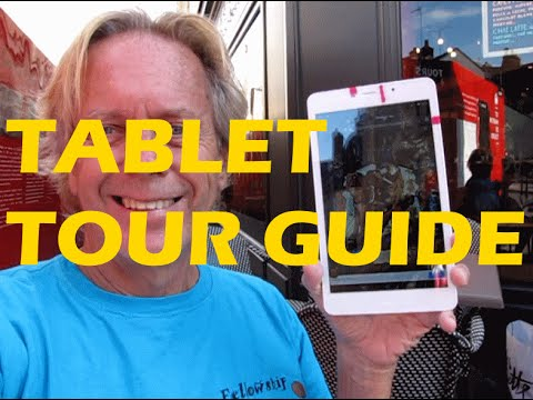 Strategy to Use Tablet Computer as Tour Guide