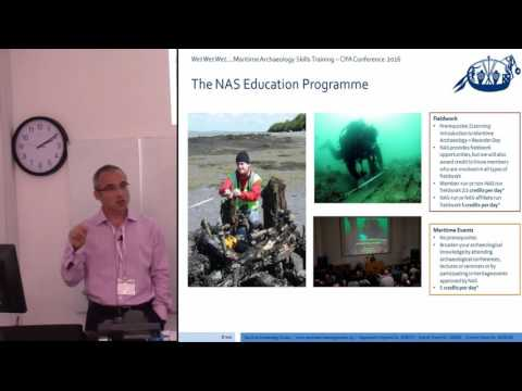 Wet Wet Wet – Maritime archaeology skills training