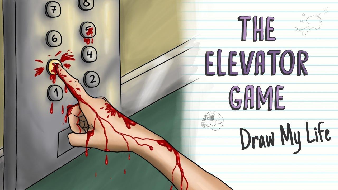 THE ELEVATOR GAME, A KOREAN RITUAL | Draw My Life