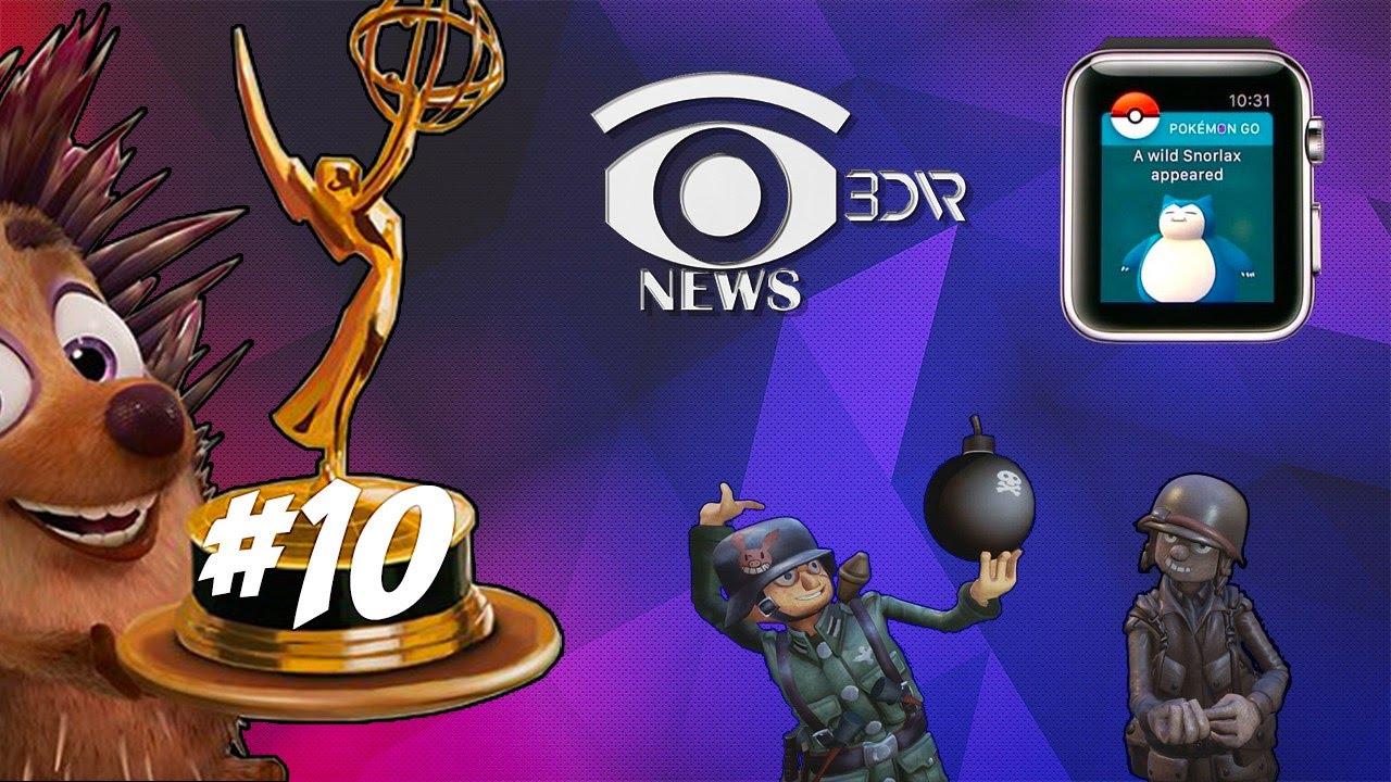 #10 Новости виртуальной реальности: обзор новинок в сфере игр и гаджетов. #3dnews
