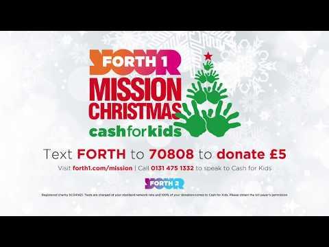Trolley Dash at Livingston Edinburgh - Cash for Kids Mission Christmas | B&M Stores