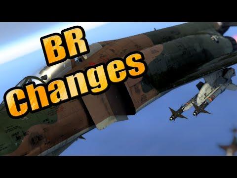 BR Decompression - Aviation - Planned BR Changes - October 2020 - War Thunder