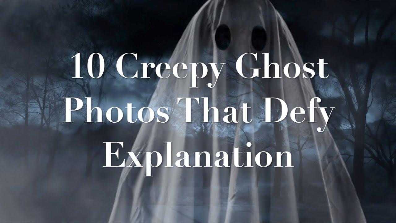 10 Creepy GHOST PHOTOS That Defy EXPLANATION #WeirdButTrue