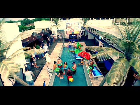 Rooftop Pool Party and Bar! Rio Austin- Drone Video //Inspire 1 (1080P) Party!