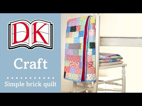 Quilting: Simple Patchwork Quilt