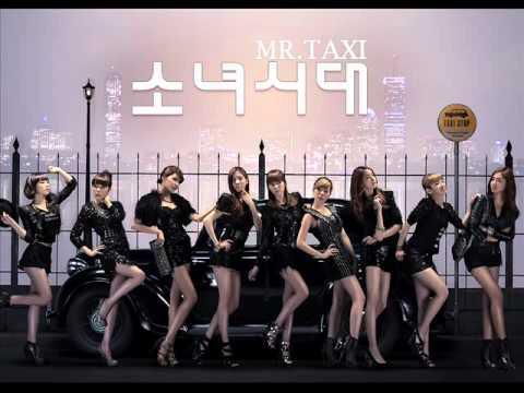 SNSD - MR.TAXI ( Korean Version ) Mp3.