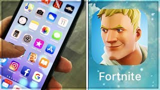 HOW TO PLAY FORTNITE ON YOUR PHONE!! *WORKING* - Download Fortnite App!! (OMG!!!)