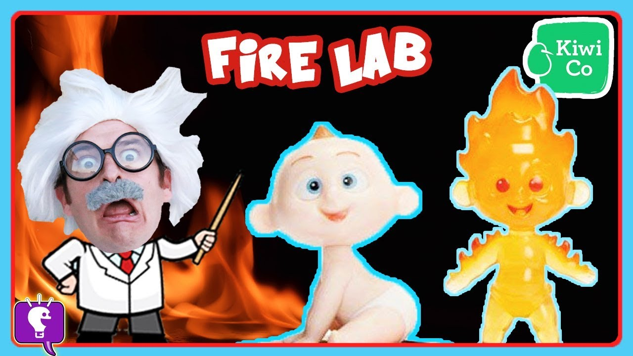 Baby Toy Jack Jack Sees FIRE POWER in a Science Experiment with HobbyHarry on HobbyKidsTV!