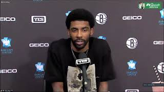Kyrie Irving Calls Out Media Members Who Doubted His Relationships With Former Teammates