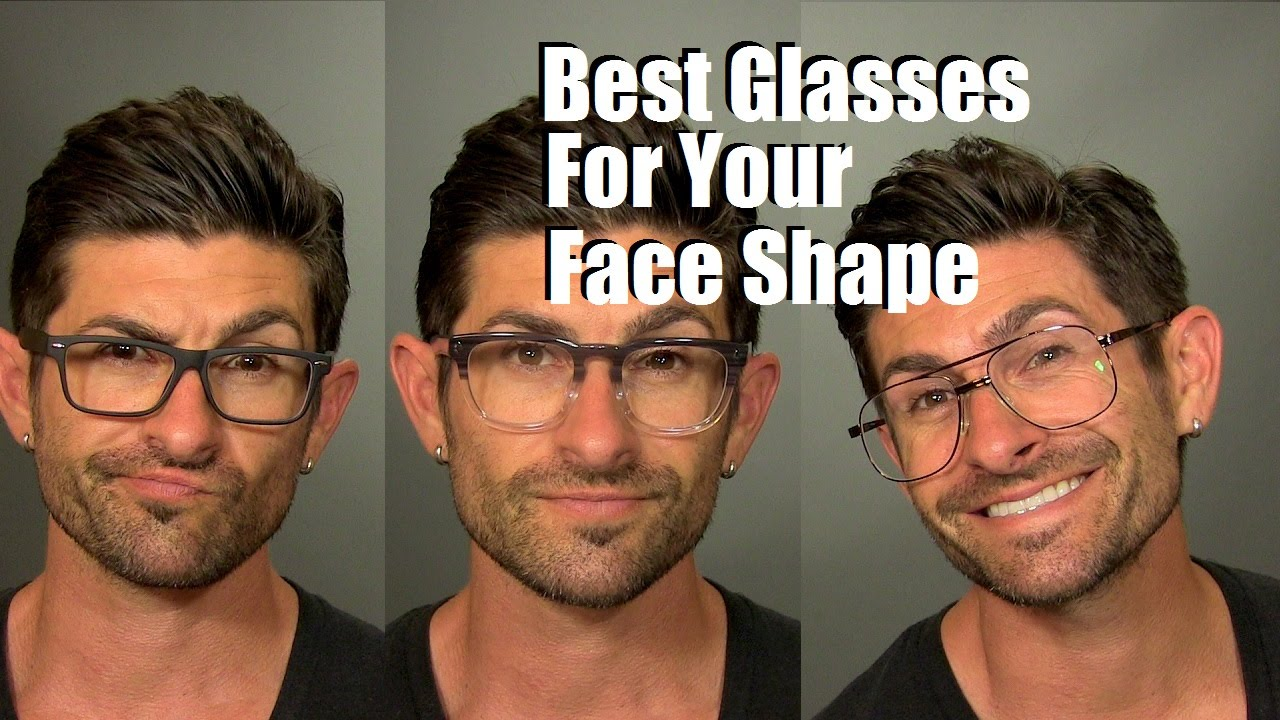 f59b7a5fae7b How To Choose The Best Glasses And Frames For Your Face Shape - YouTube