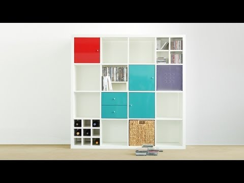 ikea regal kallax teil 1 unboxed youtube. Black Bedroom Furniture Sets. Home Design Ideas
