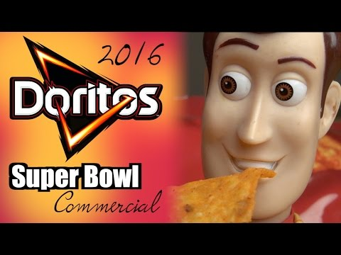 Doritos 2016 NFL Super Bowl 50 Commercial: Parody Ad - Toy Story 4 - Woody,  Buzz & Batman 2017