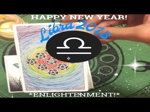 💫♎️LIBRA 2018 TAROT FORECAST - PATH OF ENLIGHTENMENT! (General Reading Sun, Moon, & Rising)