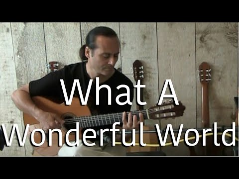 What A Wonderful World - Michael Marc (Gypsy Flamenco Masters) - Classical Acoustic Guitar