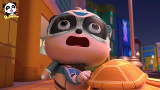 Emergency! Baby Panda Saves Grandpa Turtle | Super Panda Rescue Team | BabyBus Cartoon