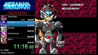 megaman unlimited z proto any speedrun 3436
