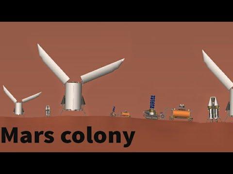 mars colony - spaceflight simulator  