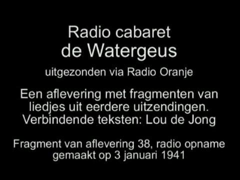Radio cabaret De Watergeus – Aflevering 38