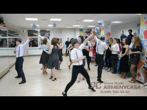 Сальса Новогоднее выступление Armenycasa Зеленоград