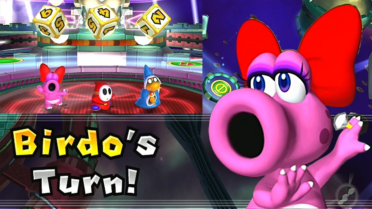 Mario Party 9 Solo Mode Birdo Bowser Station Part 6 318 Youtube