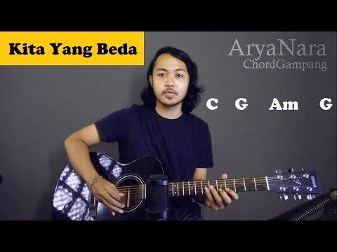 Chord Gampang (Kita Yang Beda - Virzha) by Arya Nara (Tutorial Gitar) Untuk Pemula