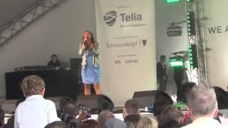 ESCKAZ live in Malmö: Charlotte Perrelli - Take Me To Your Heaven (Eurovillage)