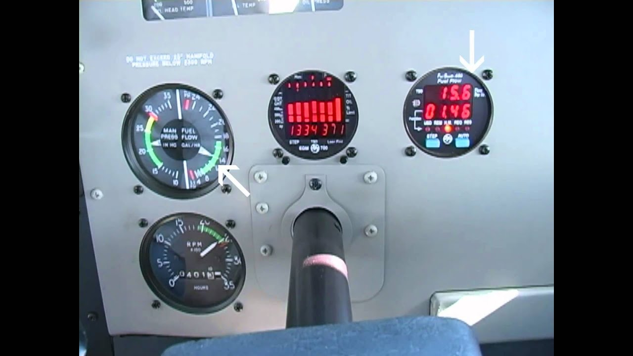 Todd's Tips - Fuel Injected IO550 LOP At 9,000 MSL
