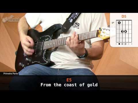Wasted Years - Iron Maiden (aula de guitarra)