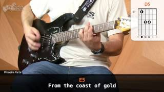 Wasted Years - Iron Maiden (aula de guitarra)