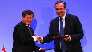 Greece and Turkey stress importance of economic ties at annual summit