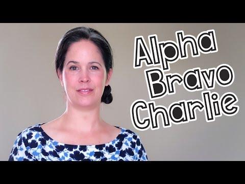 Learn the Phonetic Alphabet