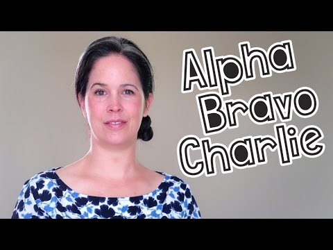 Learn the Phonetic Alphabet